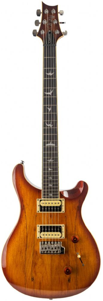 PRS SE Custom 24 Exotic, Spalted Maple, Vintage Sunburst